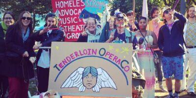 TOC members at Providence Honk Festival (PRONK) 2016