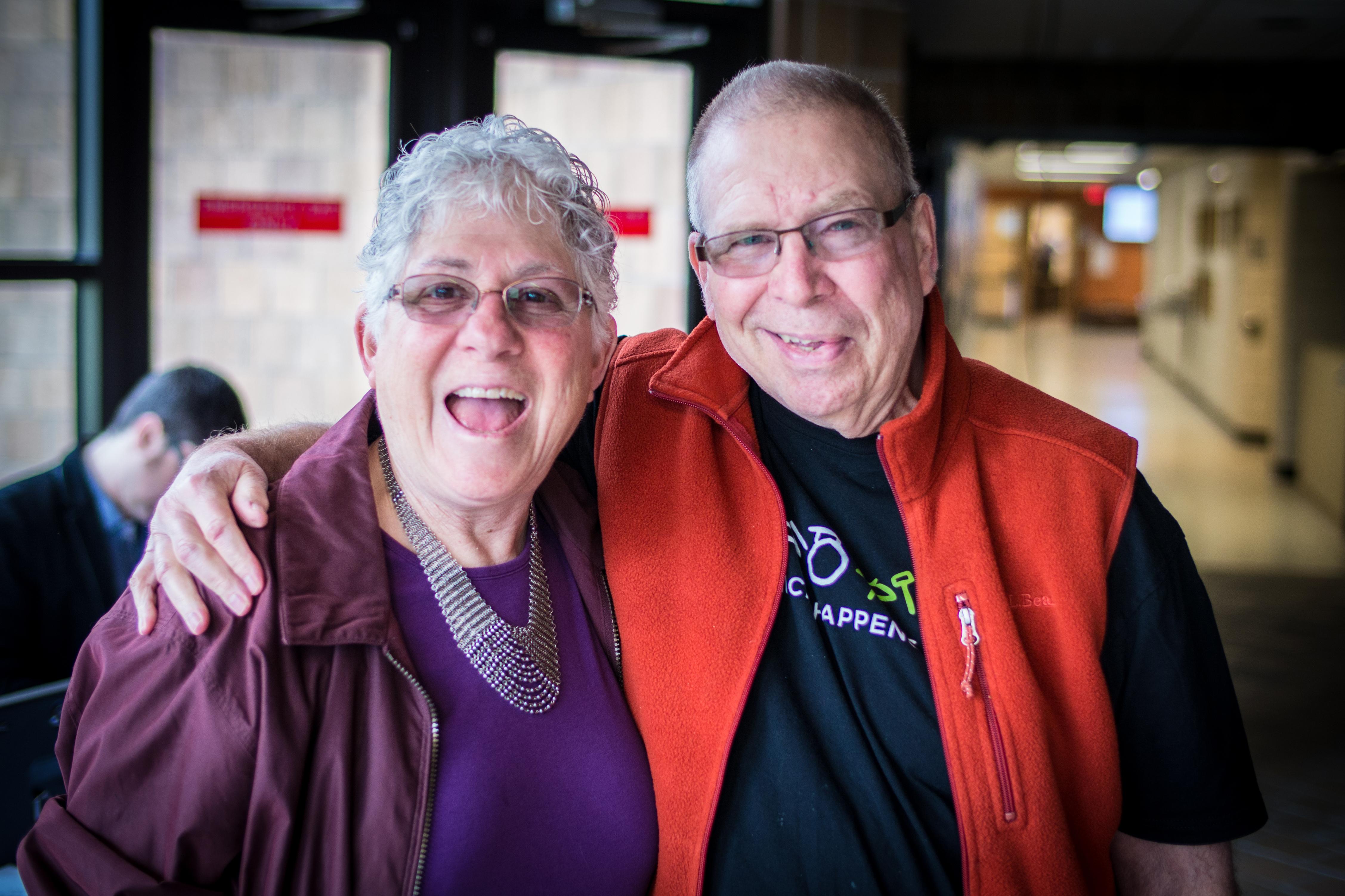 Arlene and Larry Dunn