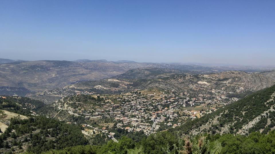 An aerial view of Lebanon (photo by Nebal Maysaud)