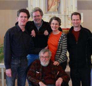Ben Johnston with The Kepler Quartet in 2015