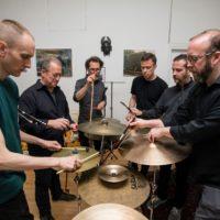 Caucasian percussion ensemble