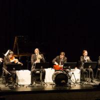 Live performance of multi-instrument ensemble
