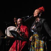 Mumu Fresh performing at Harlem Stage Inc