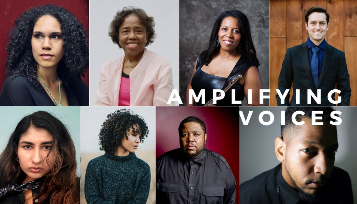 Amplifying Voices Composers